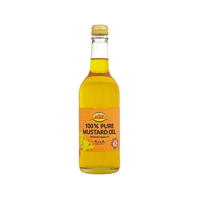 KTC Pure Mustard Oil (Glass) 500ml – KTC Edibles