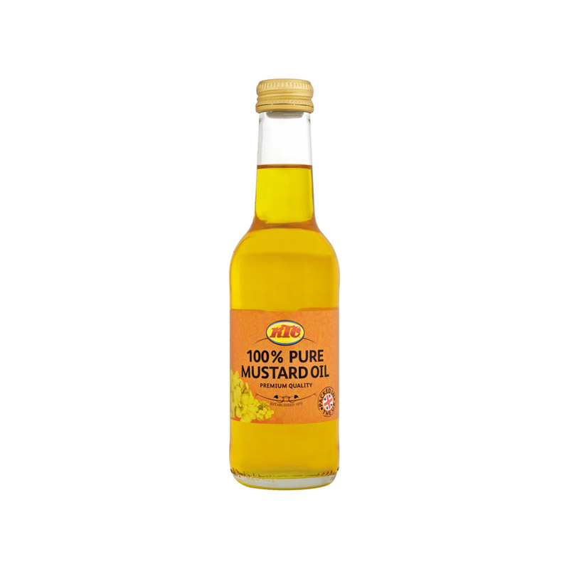 KTC Pure Mustard Oil (Glass) 250ml – KTC Edibles