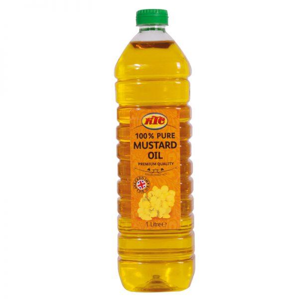 KTC Pure Mustard Oil (PET) 1L – KTC Edibles
