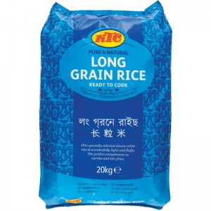 KTC Long Grain Rice 20kg