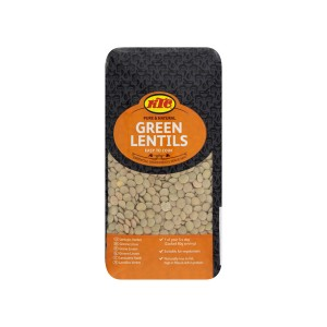 KTC Green Lentils (Brick Pack) 500g