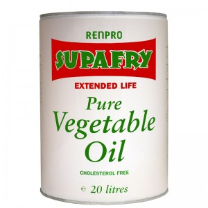 Renpro Supafry Vegetable Oil (Can) 20L