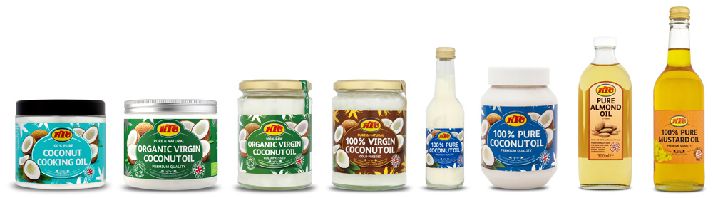 KTC Coconut and almond oil