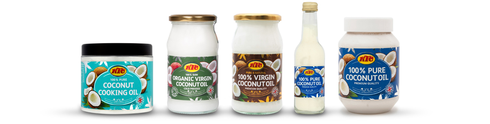 KTC's range of coconut products