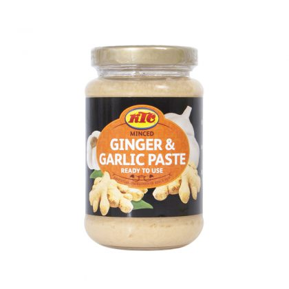 KTC Minced Ginger and Garlic 210g (Glass)