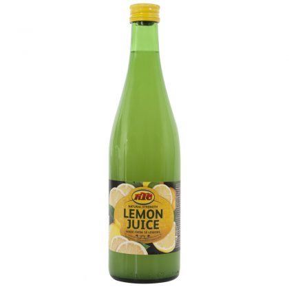 KTC Lemon Juice 1L (Glass)