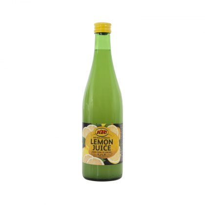 KTC Lemon Juice 500ml (Glass)