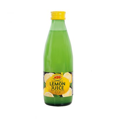 KTC Lemon Juice 250ml (Glass)
