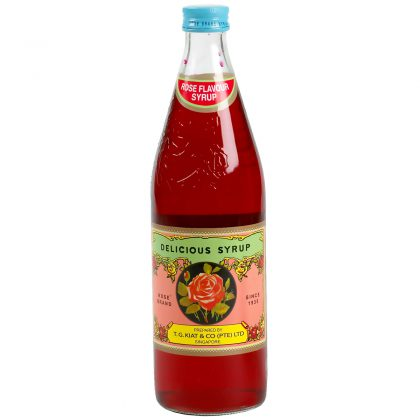 T.G. Kiat Rose Syrup 750ml