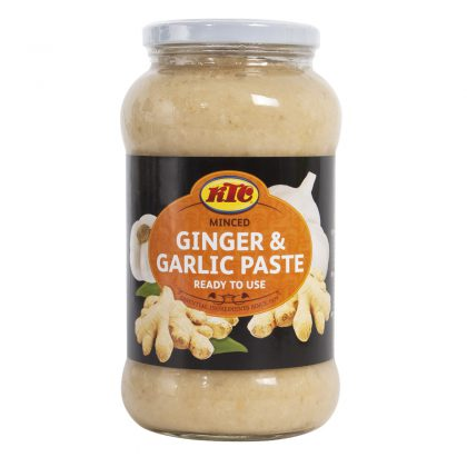 KTC Minced Ginger and Garlic 750g (Glass)