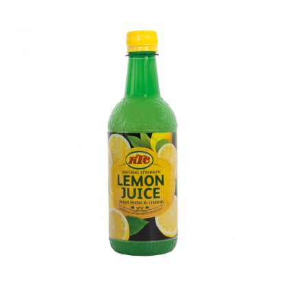 KTC Lemon Juice 500ml (PET)